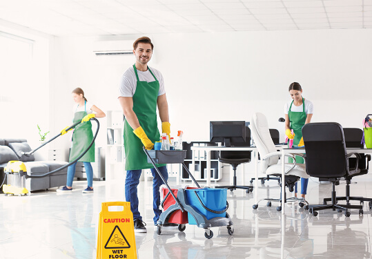 office cleaning in Mississauga, ON